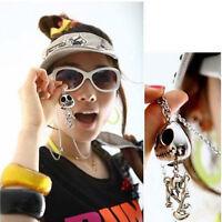 Big Eyes UFO Alien Skull Head Fashion Women Necklace Jewelry Chain Decor UK