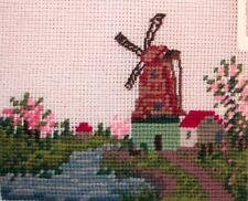 EP 2617/4 Small Windmill Preworked Needlepoint Canvas