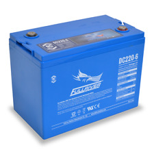 BAFRDC220-6 Fullriver Full Force AGM Deep Cycle Batteries 220 AH/6V Quantity 1