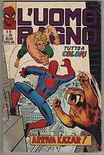 L' UOMO RAGNO corno n.52 ARRIVA KAZAR ! 1972 ka-zar giant-man dottor dr. strange