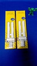 A&H Co. GX23-2 Compact Flourescent Lamp Bulb 13W, 2700K *LOT OF 2*
