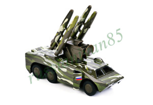 """Model of SAM. Anti-aircraft missile system """"OSA"""". Military equipment."""