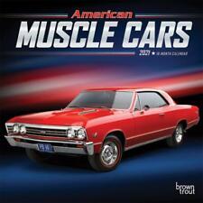 AMERICAN MUSCLE CARS - 2021 MINI CALENDAR - BRAND NEW - 18359