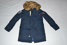AUTHENTIC ALPHA INDUSTRIES WOMENS ALTITUDE PARKA REPLICA BLUE L LARGE NEW