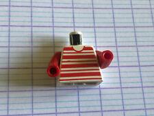 LEGO TORSO 973PX62C01 RAYE ROUGE HOLIDAY HOME 1472 4547 6388 10002...