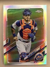 Wilson Ramos 2021 Topps Chrome Refractor New York Mets #197