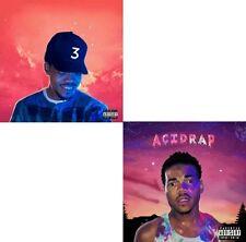 """Chance The Rapper (2- CD)- """"Coloring Book + Acid Rap"""" Official Mixtape Mix CD."""