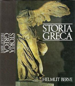 Storia Greca. . Helmut Berve. 1987. .