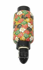 Colorful Flower Oriental Japanese Washi Night Light Lamp Candle Home Decor Gifts