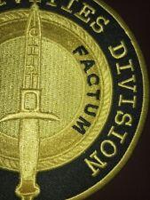 CIA SAD Special Activities Division SOG Latebra Factum 5 Inch Patch Limited