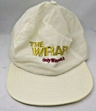 Vintage The Wrap Only Winston Has It Adult Adjustable Snapback White Hat