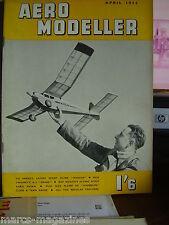 AEROMODELLER APRIL 1952 TYPHOON DIESEL REVIEW HYPERION PLANS AVRO AVIAN