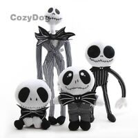 Jack Skellington Plush Toy The Nightmare Before Christmas Slippers Doll Kid Gift