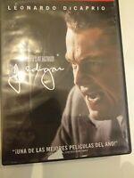 Dvd  j .EDGAR  CON LEONARDO DICAPRIO  Y (CON LA DIRECCION DE CLINT EASTWOOD)