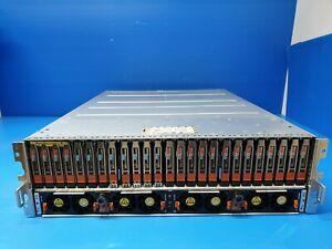 EMC VNX 5400 Storage Array VNXB54DP25 8x 200GB SSD 17x 600GB HDD 2x Controllers