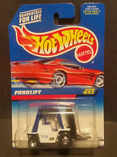 1997 Hot Wheels #642 Forklift - 19693 : Red Car CARD Variant