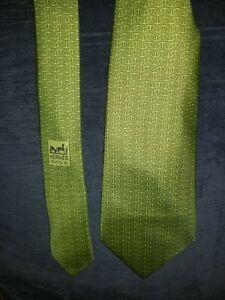 Hermes Blue Tiny Animal Print Silk Necktie,Tie , 5204