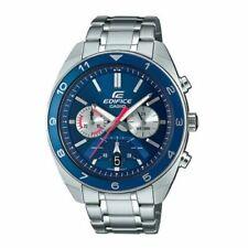 Casio EFV-590D-2AV, Edifice Stainless Steel Chronograph Watch, 100 Meter WR,Date