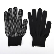 Pair Heat Resistant Protective Gloves For Hair Straightener Curling Tongs Wand A