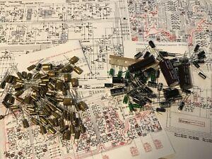 PREMIUM Reparatursatz TECHNICS RS-1500, RS-1506 NICHICON Elko Repairkit KOMPLETT