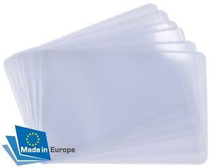 Schutzhüllen Soft für Kreditkarten Visitenkarten Bankkarten Personalausweis 1A