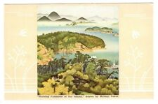 "NPK Line ""Morning Calmness at the Island"" by Helmai Nozoe Postcard"