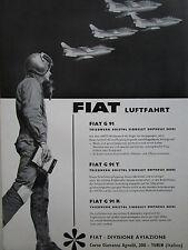 5/1960 PUB FIAT AVIAZIONE FIAT G.91 PILOTE HELMET ITALIAN AIR FORCE GERMAN AD