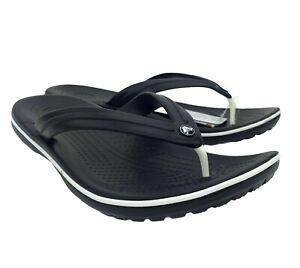 Crocs Crocband Men's Stylish casual Lightweight & comfy Summer Flip flops Black