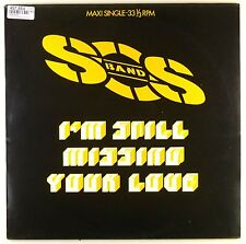 "12"" MAXI-S.O.S. BAND-I 'm still missing your love-d330-Slavati & cleaned"