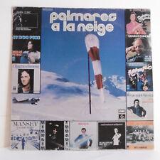 "33T PALMARES NEIGE Vinyle LP 12"" CLERC PEYRAC ROSSI HIGELIN ADAMO - EMI 14254"
