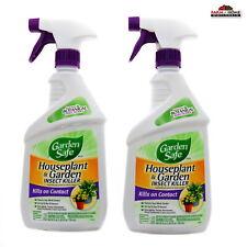Garden Safe Houseplant & Garden Insect Killer 24 oz. Hg-80422 ~ 2 Pack ~ New
