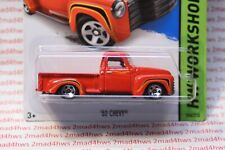 2015 Hot Wheels red '52 Chevy Pickup 244/250 hw workshop