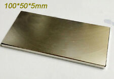 Large NdFeB Magnet Bar Neodymium Neo Magnets 100x50x5 mm 100mm x 50mm x 5mm N50
