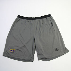 East Carolina Pirates adidas Climalite Athletic Shorts Men's Dark Gray Used