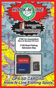 Angler Products Upload-able Fishing Hotspots for Galveston, TX - HooknLine Map