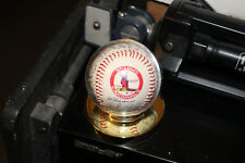 Facsimile Autograph St. Louis Cardinals Baseball In Case With Base