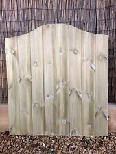 Wooden Gate, Pedestrian Gate, Solid Tongue And Groove, Tanalised Garden Gate G3