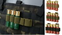 Airsoft Simple 5rd Shotgun Shell Carrier  MOLLE compatible m870