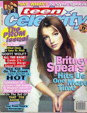 BRITNEY SPEARS Teen Celebrity Magazine Summer 1999 NSYNC KERR SMITH