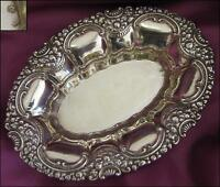VINTAGE SPANISH SILVER TABLETOP CANDY BOWL - MARKED