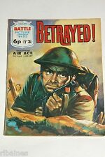 Battle Picture Library Comic, Number 512, Betrayed, British Pocket