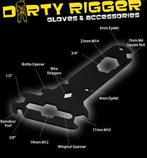 DIRTY RIGGER TECHNICIANS MULTI TOOL SPANNER, SOUND, LIGHT, RIGGING, THEATER