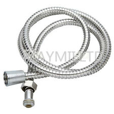 1.5M Flexible Chrome Shower Water Hose Stainless Steel Bathroom Bath Pipe O