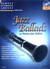 Schott Clarinet Lounge Jazz Ballads Klarinette Play-Along Noten CD Rudolf Mauz
