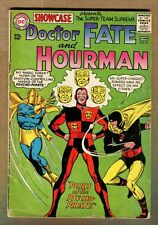Showcase #56 - Hourman & Doctor Fate Battle The Psycho Pirate! - 1965 (4.0) WH