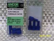 Ancor: Marine Grade Nylon Disconnects Female 16-14 AWG P#  231418,  /  (1586)*