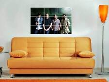 """THE TEMPER TRAP 35""""X25"""" INCH MOSAIC WALL POSTER INDIE ROCK"""