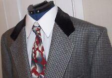 WE CUSTOMISE  Jacket  with TEDDY BOY / MOD / ROCKABILLY  Velvet Collar