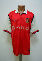 ARSENAL LONDON 1999/2000 HOME FOOTBALL SHIRT JERSEY NIKE SIZE XL ADULT