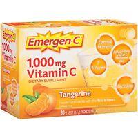 Emergen-C Pink 1000 Mg Vitamin C Supplement Tangerine 30 Packets